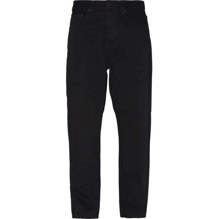 Newel Pant - Jeans - Relaxed fit - Sort